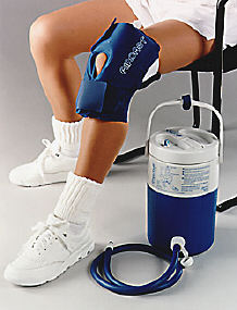 Aircast Knee Cryo//Cuff Cold Therapy Knee Injury Recovery Cold Compression