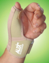 Abducted Thumb Support with Wrist Band.