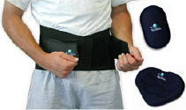 BioSkin Back Support with lumbar pad.