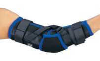 Designed to provide mild support and prevent excess hyperextension of the elbow.