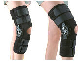 Hely and Weber Velocity Hinged Knee Brace.