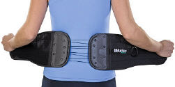 Back and Abdominal Cinching Brace.